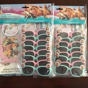 Dreamworks Spirit Party Favor Packs Bundle